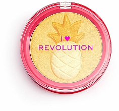 Fragrances, Perfumes, Cosmetics Highlighter - I Heart Revolution Fruity Highlighter Pineapple