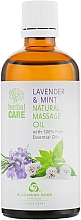 "Fragrances, Perfumes, Cosmetics Massage Oil ""Lavender & Mint"" - Bulgarian Rose Herbal Care Natural Massage Oil"