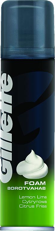 """Shaving Foam """"Lemon"""" - Gillette Classic Lemon Lime Shave Foam for Men"""
