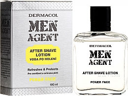 Fragrances, Perfumes, Cosmetics After Shave Lotion - Dermacol Men Agent Poker Face After Shave Lotion