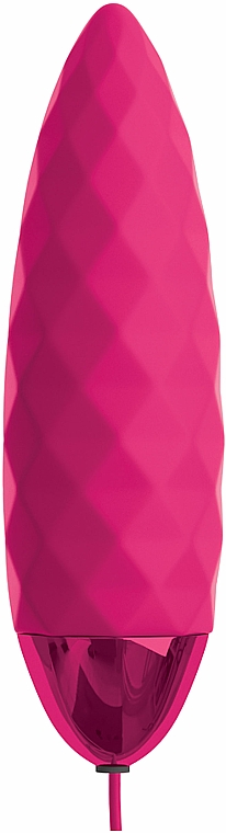 Remote Control Embossed Vibro Bullet, fuchsia - Pipedream OMG! Bullets #Fun Vibrating Bullet — photo N4