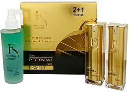 Fragrances, Perfumes, Cosmetics Set - Fytofontana Stem Cells Pigment Set (ser/30ml + emulsion/30ml + wat/125ml)