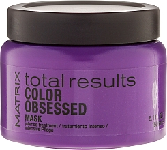Fragrances, Perfumes, Cosmetics Hair Color Preserving Mask for Color-Treated Hair - Matrix Total Results Color Obsessed Mask