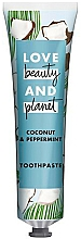 Fragrances, Perfumes, Cosmetics Coconut & Mint Toothpaste - Love Beauty And Planet Coconut & Peppermint Toothpaste