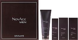 Fragrances, Perfumes, Cosmetics Set - Oriflame NovAge Men Set (gel/50ml + ser/50ml + gel/15ml + cleancer/125ml)
