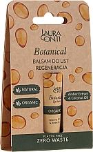 Fragrances, Perfumes, Cosmetics Amber Oil Lip Balm - Laura Conti Botanical Lip Balm