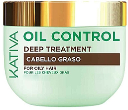 Fragrances, Perfumes, Cosmetics Oil Hair Mask - Kativa Oil Control Deep Treatment