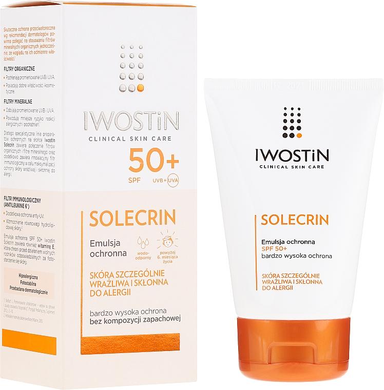 Protective Emulsion SPF50+ - Iwostin Solecrin Emulsion SPF50+