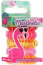 "Fragrances, Perfumes, Cosmetics Hair Brush ""Flamingo"", 5 pcs - Martinelia"