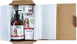 Fragrances, Perfumes, Cosmetics Set - BeBio Pomegranate And Goji Berries Set (sh/gel/400ml + b/lot/200ml + deo/roll-on/50ml)
