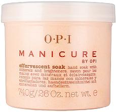 Fragrances, Perfumes, Cosmetics Effervescent Soak with Minerals & Brighteners - O.P.I. Manicure Effervescent Soak