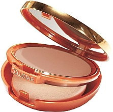 Fragrances, Perfumes, Cosmetics Compact Foundation-Powder with Bronzing Effect - Collistar Tanning Compact Cream SPF 30