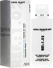 Fragrances, Perfumes, Cosmetics Cleansing Eye and Face Milk - Aura Chake Cleansing Milk Face & Eyes