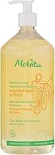 "Fragrances, Perfumes, Cosmetics Hair & Body Shampoo ""Flower Honey & Lime"" - Melvita Extra-Gentle Family Shampoo"