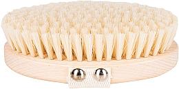 Fragrances, Perfumes, Cosmetics Massage & Wash Brush, soft fiber, light-brown - Miamed