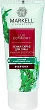 "Fragrances, Perfumes, Cosmetics Foam Scrub for Face ""Japanese Algae"" - Markell Cosmetics Lux-Comfort"