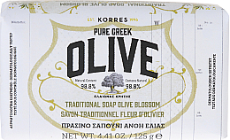 Fragrances, Perfumes, Cosmetics Traditional Olive Blossom Soap - Korres Pure Greek Olive Green Soap Olive Blossom