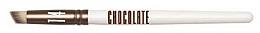 Fragrances, Perfumes, Cosmetics Eyeshadow & Corrector Brush - Novara Chocolate No. 14 Taklon Paw-Shape Brush