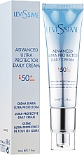 Fragrances, Perfumes, Cosmetics Facial Sun Cream Gel - LeviSsime Advanced Ultra Protector Daily Cream SPF50