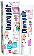 Fragrances, Perfumes, Cosmetics Cheerful Little Mouse Toothpaste, grape - Biorepair Kids Milk Teeth