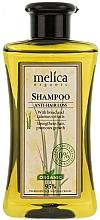 "Fragrances, Perfumes, Cosmetics Anti Hair Loss Hair Shampoo ""Nourishing"" - Melica Organic Anti-hair Loss Shampoo"