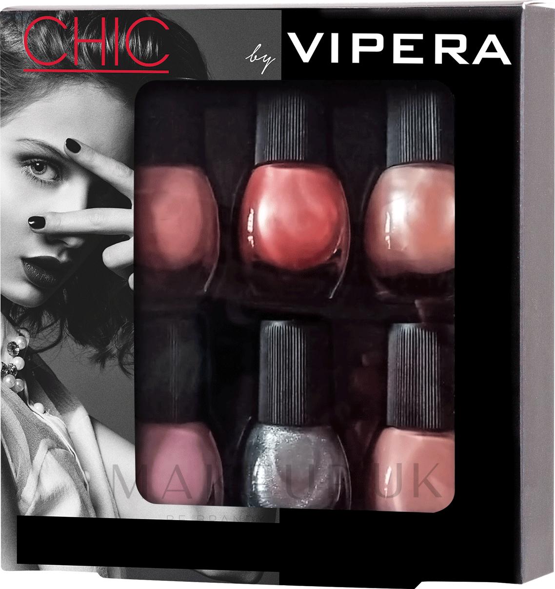 Nail Polish Set - Vipera Chic (nail/polish/6x5.5ml) (01 -Allure) — photo 01 - Allure