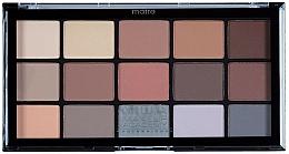 Fragrances, Perfumes, Cosmetics Eyeshadow Palette - MUA Pro 15 Shade Eyeshadow Palette Matte
