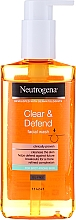 Fragrances, Perfumes, Cosmetics Facial Washing Gel - Neutrogena Visibly Clear Spot Proofing Daily Wash