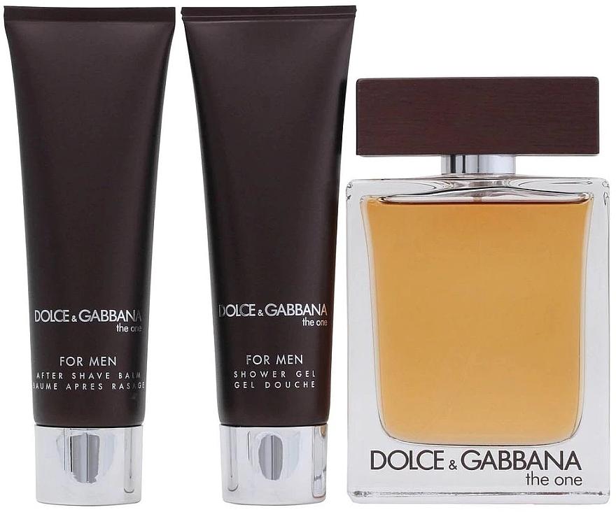 Dolce & Gabbana The One for Men - Set (edt 100ml + a/sh balm 50ml + sh/gel 50ml) — photo N3
