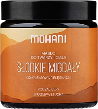 """Fragrances, Perfumes, Cosmetics Face & Body Butter """"Almond"""" - Mohani Almond Rich Batter"""