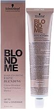 Fragrances, Perfumes, Cosmetics Lightening Cream for Gray Hair - Schwarzkopf Professional BlondMe White Blending