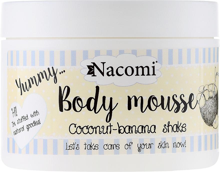"Body Mousse ""Coconut-Banana Shake"" - Nacomi Body Mousse Coconut-Banana Shake"