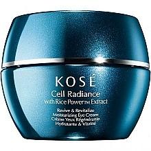 Fragrances, Perfumes, Cosmetics Eye Cream - Kose Rice Power Extract Cell Radiance Revive & Revitalize Moisturizing Eye Cream