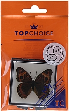 """Fragrances, Perfumes, Cosmetics Cosmetic Mirror, """"Butterflies"""" 85420, brown - Top Choice"""