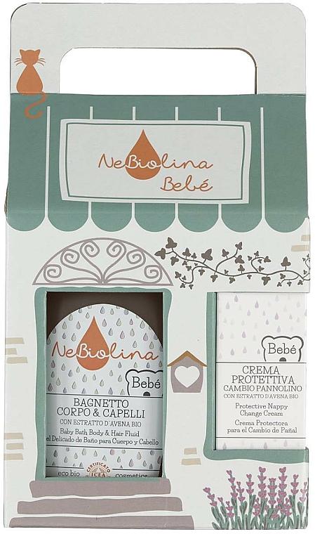 Set - NeBiolina Baby Gift Set II (body/hair/fluid/500ml+cr/100ml) — photo N1