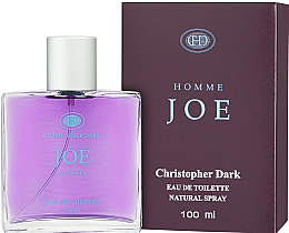 Fragrances, Perfumes, Cosmetics Christopher Dark Homme Joe - Eau de Toilette