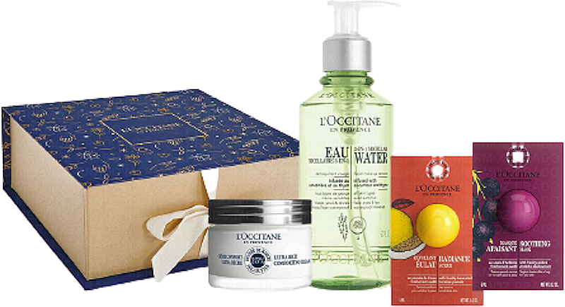 Set - L'Occitane Face Care (micellar/200ml + cr/50ml + mask/6ml + scr/6ml) — photo N1
