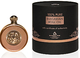 Fragrances, Perfumes, Cosmetics Natural Rose Oil in Copper Box - Bulgarian Rose Oil