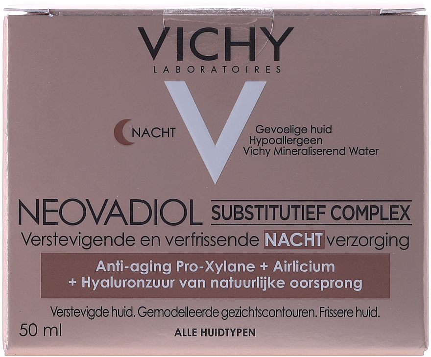 Compensating Anti-Age Night Cream for All Skin Types - Vichy