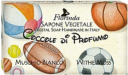 Fragrances, Perfumes, Cosmetics White Moss Natural Soap - Florinda Sapone Vegetale Vegetal Soap White Moss