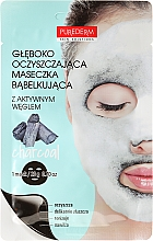 Fragrances, Perfumes, Cosmetics Deep Cleansing Oxigen Face Mask - Purederm Deep Purifying Black O2 Bubble Mask Charcoal