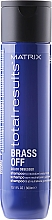 """Fragrances, Perfumes, Cosmetics Hair Color Preserving Shampoo """"Cold Blonde"""" - Matrix Total Results Szampon Brass Off"""