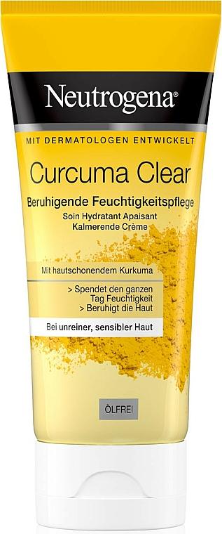 Light Moisturizing Cream with Turmeric Extract - Neutrogena Curcuma Clear Cream