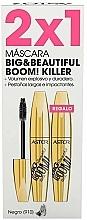 Fragrances, Perfumes, Cosmetics Set - Astor Big Beautiful Boom Volume Black (2xmascara/12ml)