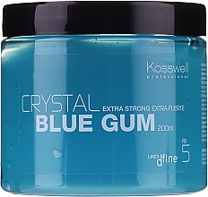 Fragrances, Perfumes, Cosmetics Long-Lasting Structuring Hair Gel - Kosswell Professional Dfine Crystal Blue Gum