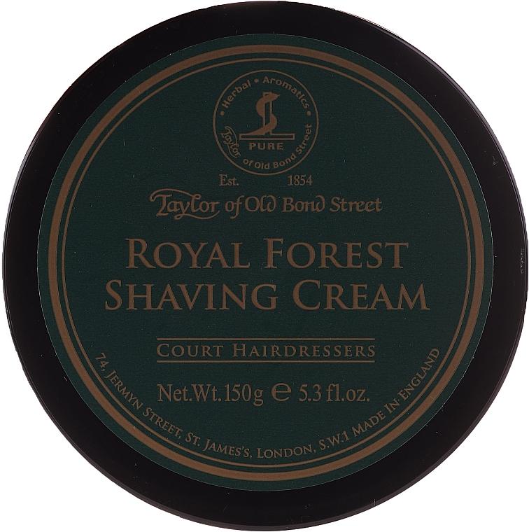 Shaving Cream - Taylor of Old Bond Street Royal Forest