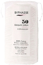 Fragrances, Perfumes, Cosmetics Make-up Removing Cotton Pads 50pcs - Byphasse Cotton