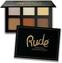 Fragrances, Perfumes, Cosmetics Contour Palette - Rude Audacious Contouring Palette