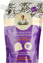 Fragrances, Perfumes, Cosmetics Anti Hair Loss Juniper Balsam-Bath - Retsepty Babushki Agafyi (doypack)