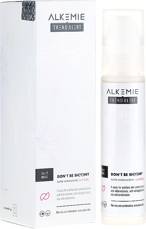 Normalizing Face Cream - Alkemie Call It Magic Don't Be Shying Super Normalizing Cream